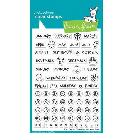 Plan on it: Calendar - Timbro Lawn Fawn