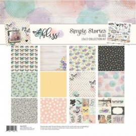 "Carta per scrapbooking ""Bliss"" - di Simple stories"