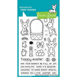 Eggstra amazing easter - Timbro Lawn Fawn