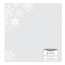 Foglio di Acetato Snowflakes 12 x 12 - American Crafts