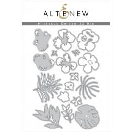 Hibiscus Garden 3D Die Set - Fustelle di Altenew