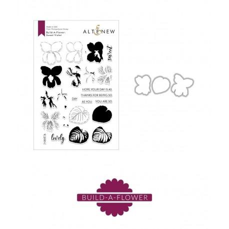 Build-A-Flower: Rose - Timbro e fustella di Altenew