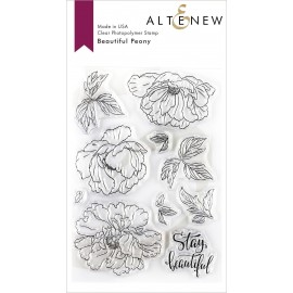 Beautiful Peony Stamp Set -  Timbro di Altenew