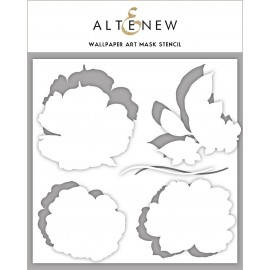 Wallpaper Art Mask Stencil - di Altenew