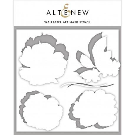 Wallpaper Art Mask Stencil - di Altenew