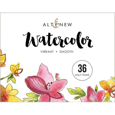 Watercolor 36 Pan Set -  Acquerelli di Altenew