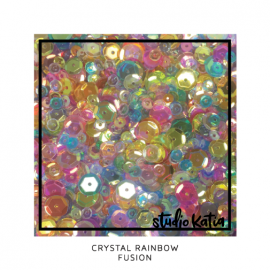"Sequin mix ""Crystal Rainbow"""