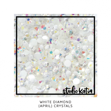 April White Diamonds - Crystals