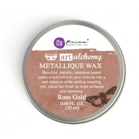 "Metallique Wax Art Alchemy by Finnabair Prima Marketing - ""Rose Gold"""