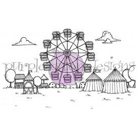 Fairgrounds Background - Timbro di Stacey Yacula Studio