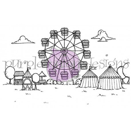 Fairgrounds Background - Timbro di Stacey Yacula Studio