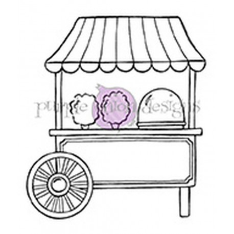 Cotton Candy Cart - Timbro di Stacey Yacula Studio