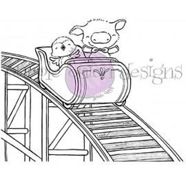 Roller Coaster - Timbro di Stacey Yacula Studio