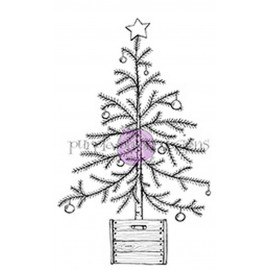 Christmas Tree in Crate - Timbro di Stacey Yacula Studio