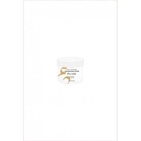 Pure White Crisp Embossing Powder