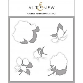 Peaceful Reverie Mask Stencil - di Altenew