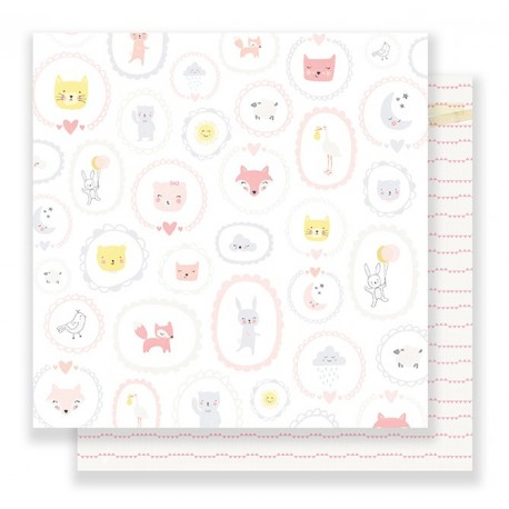 "Carta di Crate Paper ""Little you"" -  BABY GIRL"
