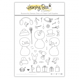 Snow Buddies - Timbro di Honey Bee Stamps