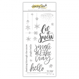 Jingle All The Way - Timbro di Honey Bee Stamps