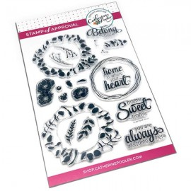 Sweet Home Wreath Stamp Set - Timbro di Catherine Pooler