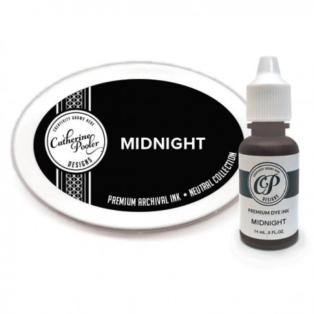 Inchiostro Midnight Ink Pad and Refill di Catherine Pooler