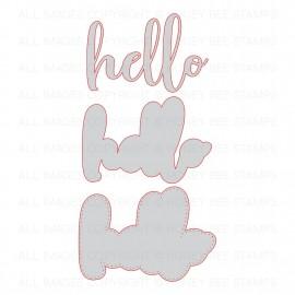 Hello - Fustella di Honey Cuts