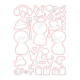 Snow Buddies - Fustella di Honey Cuts