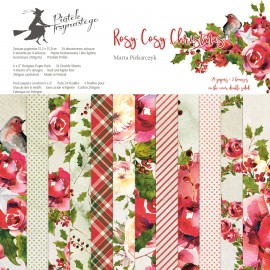 Paper pad  P13 - Rosy Cosy Christmas