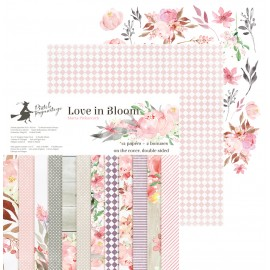 Paper pad  P13 - Love in Bloom