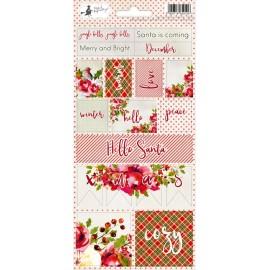 Sticker sheet Rosy Cosy Christmas