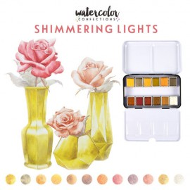 "Watercolor Confections -  ""Shimmering Lights"" di Prima Marketing"