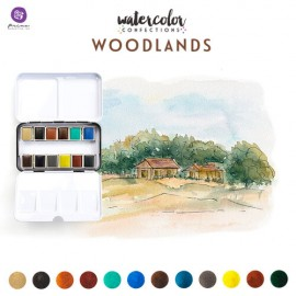 "Watercolor Confections - ""Woodlands"" di Prima Marketing"
