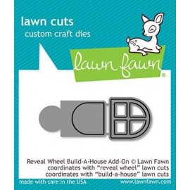 Reveal wheel build-a-house add-on- Fustella Lawn Fawn