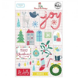 Home for the Holidays - Puffy stickers