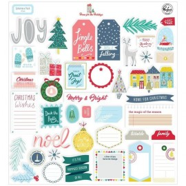 Home for the Holidays - Ephemera pack