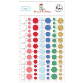 Home for the Holidays - Enamel dots