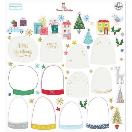 Home for the Holidays - Snow globe elements