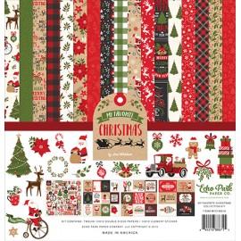 Carta per scrapbooking di Echo Park Paper - My Favorite Christmas