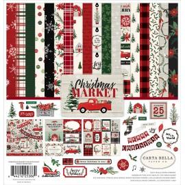 Carta per scrapbooking di Echo Park Paper - Christmas Market