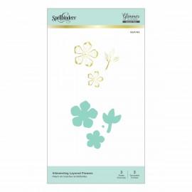 Spellbinders  Flowers - Hot Foil Plate