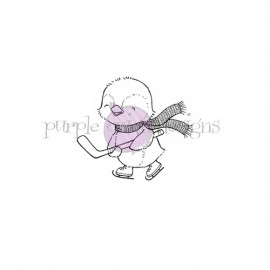 Storm Hockey Penguin - Timbro di Stacey Yacula Studio