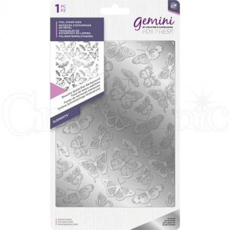 Beautiful Butterflies   - Gemini Foil Stamp