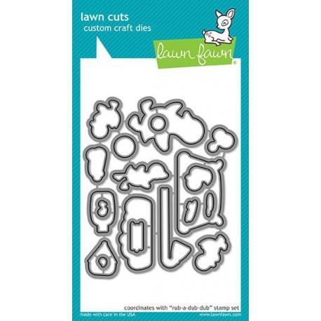 mini pop-up box - Fustella Lawn Fawn