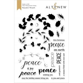 Peaceful Wreath Stamp Set - Timbro di Altenew