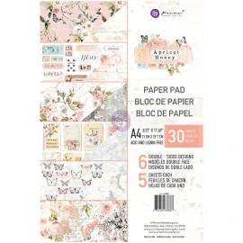 Blocco di carte per Scrapbooking di Prima Marketing -  Apricot Honey A4