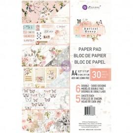 Blocco di carte per Scrapbooking di Prima Marketing -  Apricot Honey A4