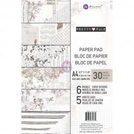 Blocco di carte per Scrapbooking di Prima Marketing -  Pretty Pale  A4
