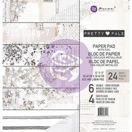 """Paper pad di Prima Marketing -  Pretty Pale 12""""x12"""""""
