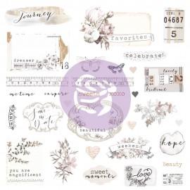 Pretty Pale Ephemera & Stickers di Prima Marketing