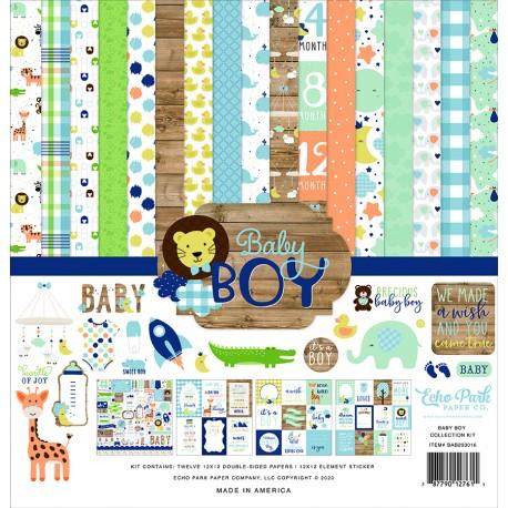 Carta per scrapbooking di Echo Park Paper - Baby Boy
